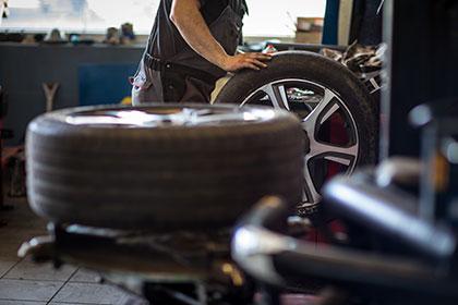 balancement des roues