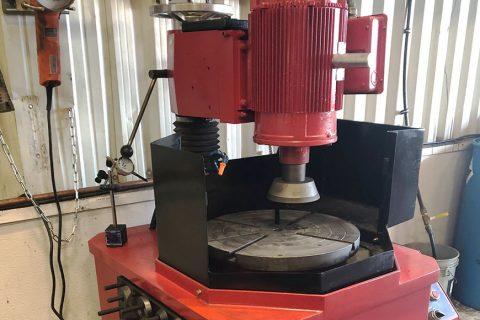 machine flywheel grinder